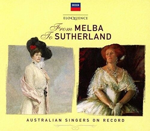 Various Artists - From Melba To Sutherland: Australian Singers / Var [New CD] Au