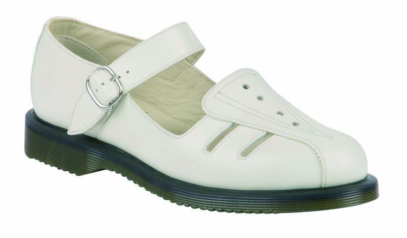 DR Martens Slip On Sandalo Deardra OFF BIANCA 20862103 Original Classic DOC
