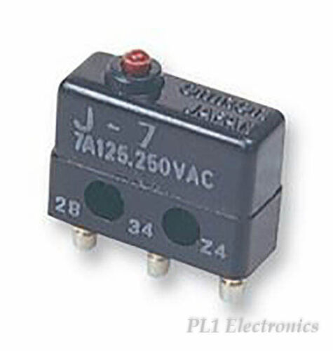 Omron Industrial Automation J7 Microswitch, émbolo