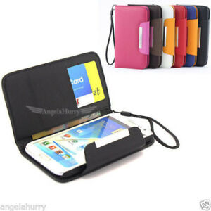 new product d6045 545d5 iPhone 4 4S Slim Wallet Flip Leather Pouch Case Cover For iPhone 4 ...