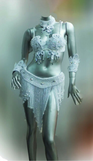 Da NeeNa B023 Parade Showgirl Victoria Model Angel Bra Belt Costume
