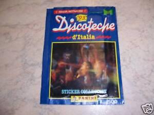DISCOTECHE-D-039-ITALIA-039-93-PACCHETTO-FIGURINE-SIGILLATO-ED-PANINI-RARO