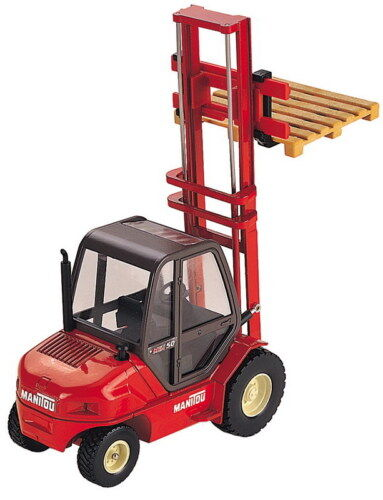 JOAL 200 - Manitou MSI-50 Fork Lift Truck 1/25 Scale New Boxed - Tracked 48 Post