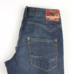 Tommy Hilfiger Hommes Clanton Jeans Jambe Droite Taille W29 L32 APZ490
