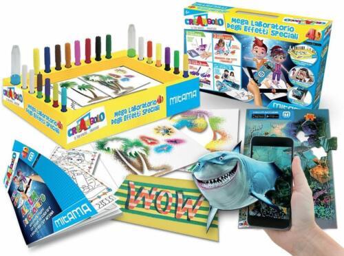 Mega Laboratorio Degli Effetti Speciali 4D Pennarelli Magici per Colorare Colora