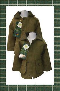 Walker-amp-Hawkes-Kids-Derby-Tweed-Hunting-Country-Jacket-Coat-Kids-Light-Dark