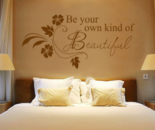 Be Your Kind Beautiful Quote Mural Wall stickers UK   SH88