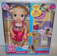 Hasbro Baby Alive My Baby All Gone Interactive Doll Blonde Ready To Ship