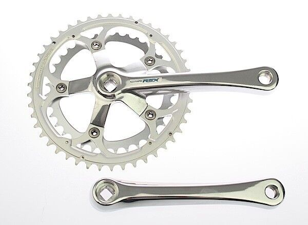 Shimano RSX FC-A410 Road Bike Double Crankset 46  36T 175mm  for sale