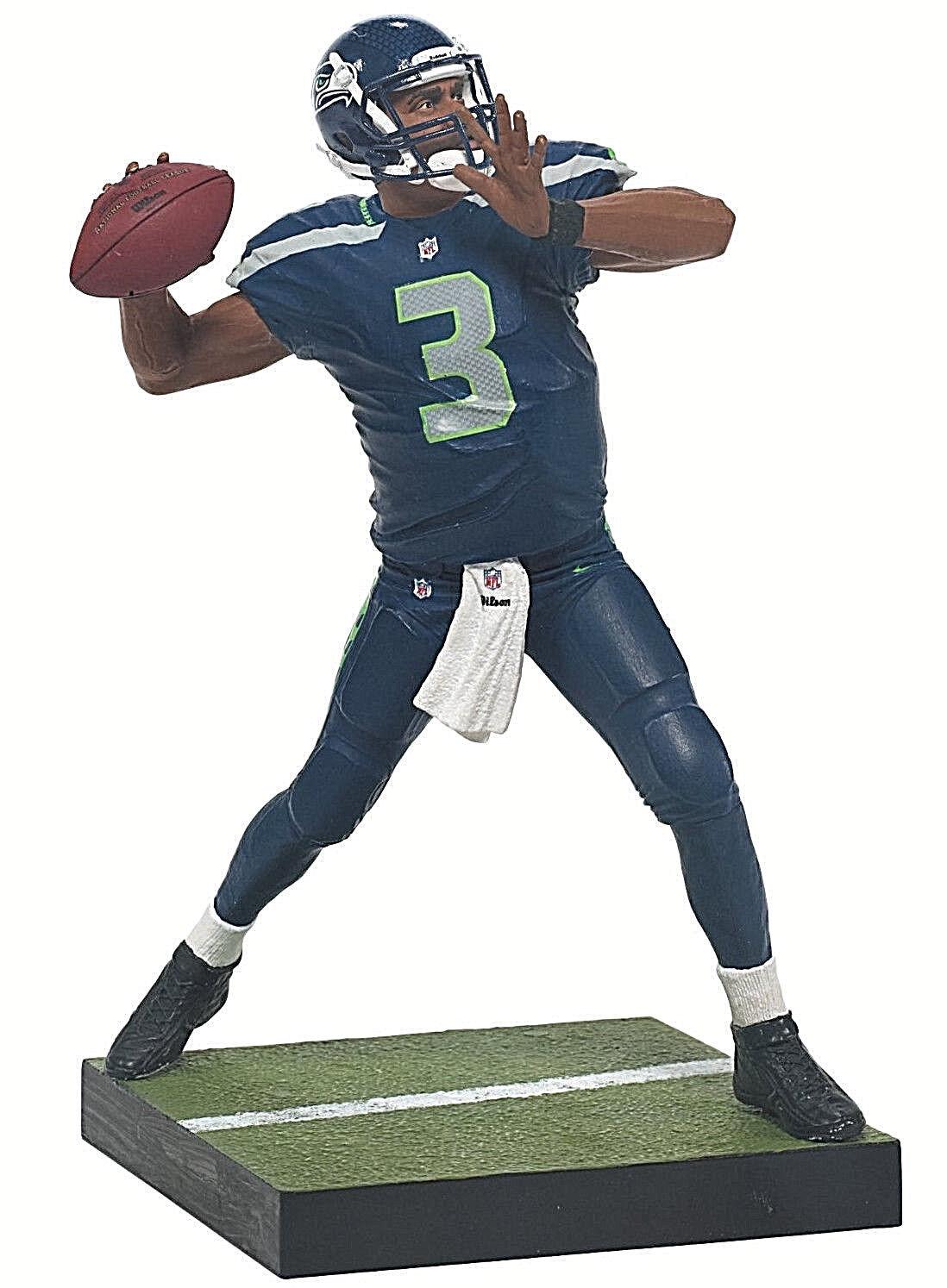McFARLANE NFL Series _Russell WILSON 6 inch Debut action figure_MIP_Seahawks