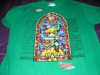 Nintendo Legend Of Zelda Windwaker Mens Tshirt Window Green