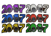 12 Packs Glitter Style Sun Glasses 2017 Year Party Supplies Celebrations