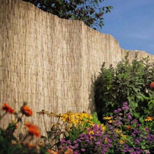 New Fantastic Garden Reed Fencing 1.5 x 4M Ideal for screening walls and fences