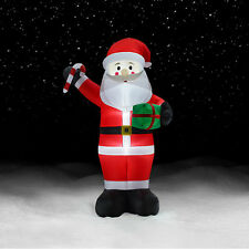 12 Giant Santa Inflatable Christmas Decorations Outdoor Yard Decor Lights Up
