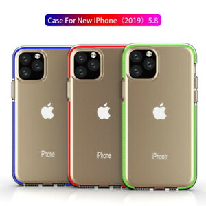 Para iPhone 12 Pro Max 11 XR XS X 8 Funda Blanda de Lujo de Parachoques Colorido