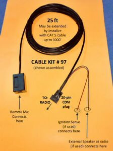 image is loading cable-kit-97-remote-mic-mike-extension-motorola-