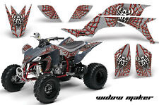Yamaha YFZ 450 AMR Racing Graphic Kit Wrap Quad Decals ATV YFZ450 04-13 WDOW RED