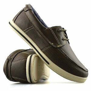 Boys-Kids-Casual-Summer-Lace-Up-Smart-Walking-School-Trainers-Boat-Shoes-Size