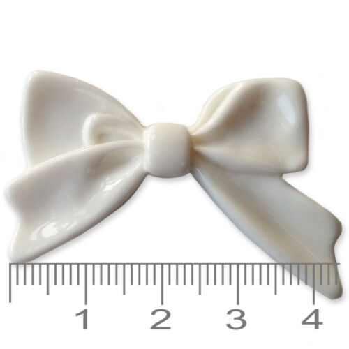 Large Bowknot BOWS Flatback Cabochons Kawaii Craft Embellishments Decoden Charms
