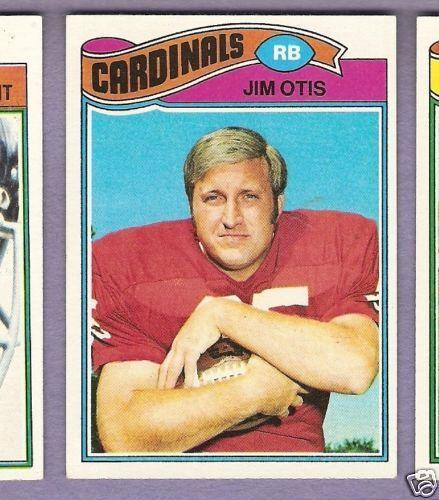 1977 Topps FB #62 Jim Otis/Cards EX/MT