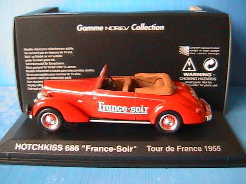 Hotchkiss 686 france - soir tdf 1955 norev 590009 1   43