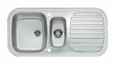 1.5 Bowl Stainless Steel 'Prince S1.5' Kitchen Sink