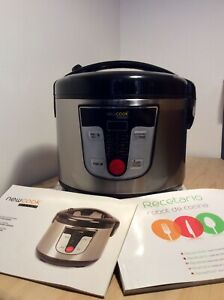 NEWCOOK Robot Da Cucina Multifunzione, Capacità 5 Litri, Programmabile Fino 24H