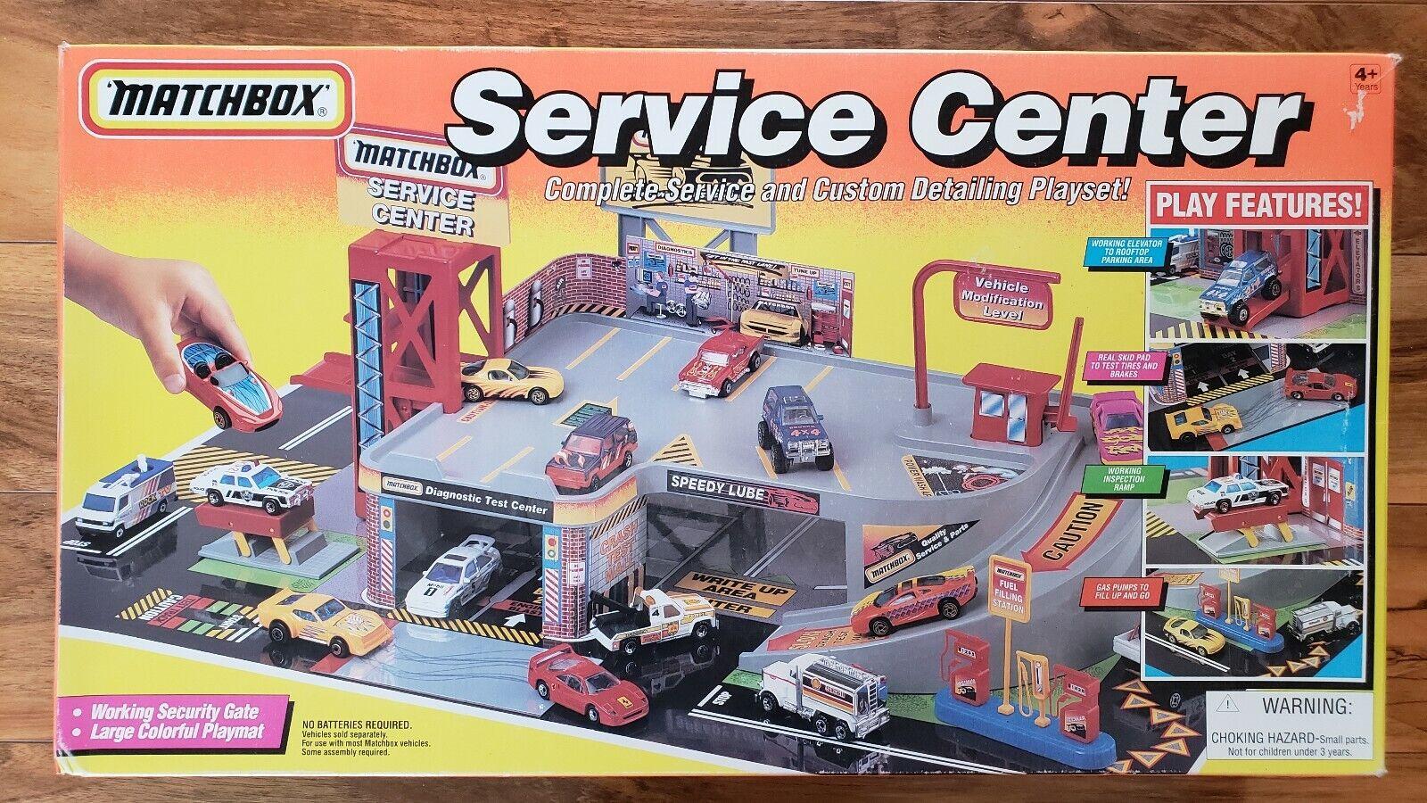 VINTAGE Matchscatola Service Center NUOVO IN SCATOLA SIGILLATA 1994