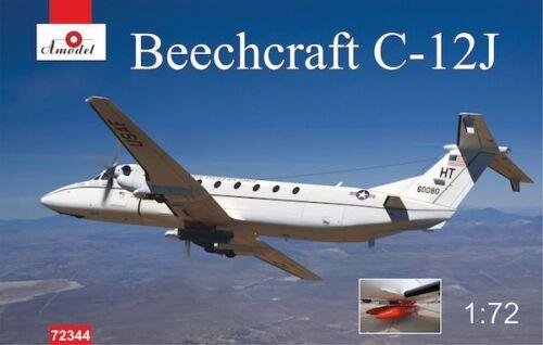 A Model 1//72 Beechcraft C-12J # 72344 Plastic Model Kit