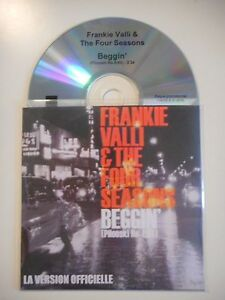 FRANKIE-VALLI-amp-THE-FOUR-SEASONS-BEGGIN-039-CD-SINGLE