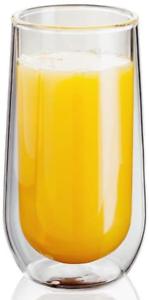 330 ml ensemble de 2 Creuse Vide Scellé Le juge JDG20 double paroi whisky soda verres