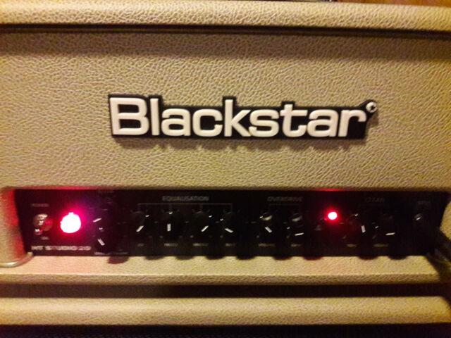Blackstar HT Studio 20 Bronco Tan Limited Edition TUBE AMP Guitar Head 2 Channel