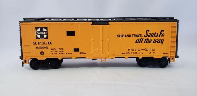 HO Scale Athearn Santa Fe Texas Chief 40' Single Door Reefer 8396  L2282