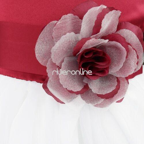 Blumenkleid Mädchen Baby Flower Blumenmädchenkleid Blütenblätter Hochzeit Kleid