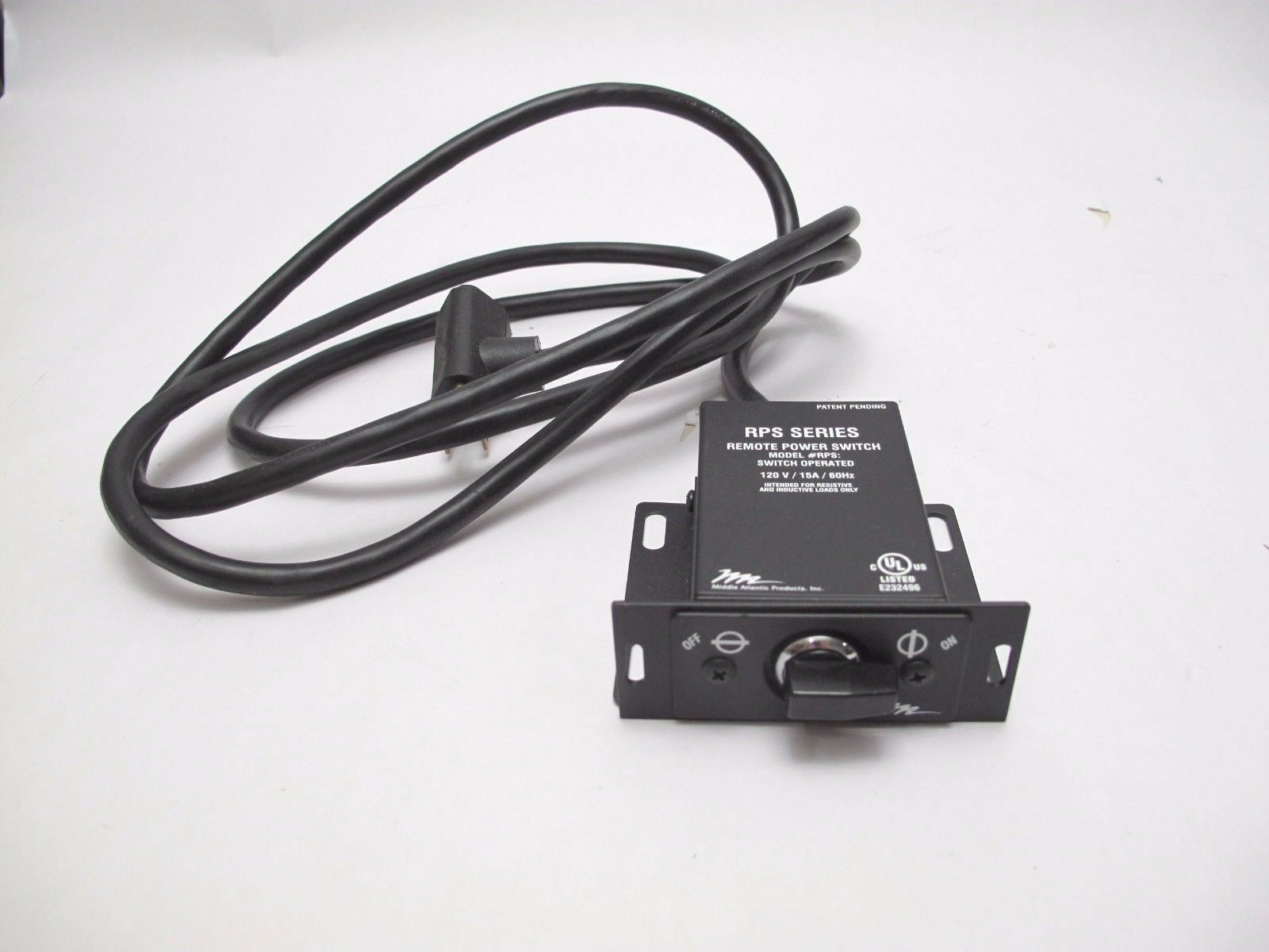 MIDDLE ATLANTIC - Remote Power Switch - Surface or Decora Mounting - Model RPS