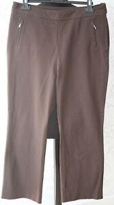 """Nouveau 1980 S Vintage Marks & Spencer Uk14/w34"""" épais Coton Marron Classique Pantalon-afficher Le Titre D'origine DernièRe Technologie"""