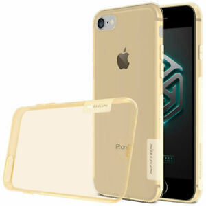 Gold-Nillkin-nature-clear-back-case-for-Apple-iphone-6-6S