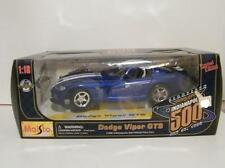 Maisto 1:18 Limited Edition 1996 Dodge Viper GTS Indy 500 Pace Car Diecast Metal