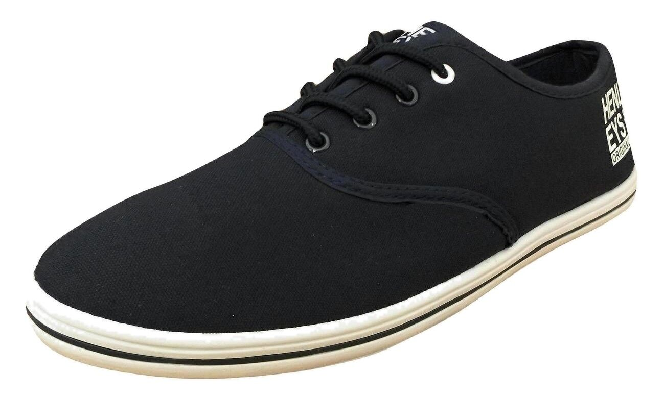Henleys Men's Stash Canvas Canvas Stash Trainers Navy 459d52