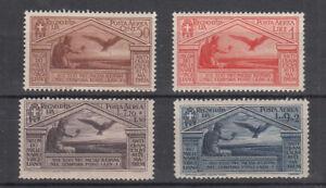 1930-Regno-Italia-Bimillenario-Nascita-Virgilio-MNH-4-V-Posta-Aerea-Nuovi