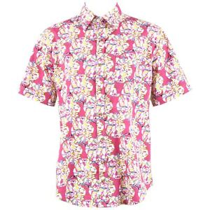 Pink Party Stag Festival para Funky hombre disfraces Camisa Holiday Floral Loud wZvBXFq