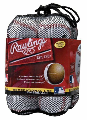 NEW Rawlings Official League Recreational Use Baseballs Pack of 12