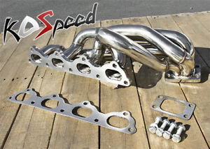 Details about STAINLESS STEEL TURBO EXHAUST MANIFOLD T3/T4 89-95 VOLVO  240/740/940 16V B20 B23