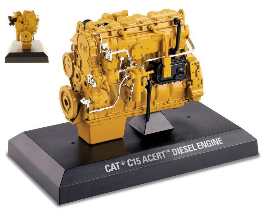 Caterpillar CAT 1:12 C15 MOTORE DIESEL acert Diecast MASTERS COLLECTION 85139