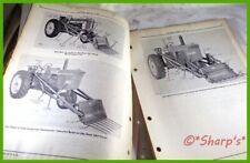 John Deere A B G 60 3010 45 Farm Loader Parts Catalog Pc484 Dealership Copy