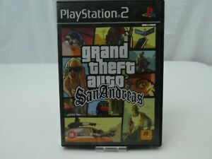SONY-PLAYSTATION-2-GRAND-THEFT-AUTO-SAN-ANDREAS-COMPLETE-GAME-INSTRUCTIONS