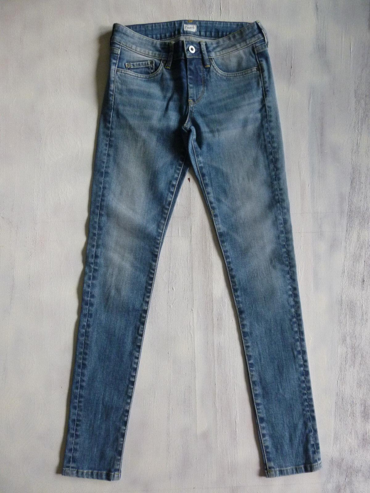 Pepe London PIXIE GA6 Super Skinny mid Jeans Hose blau Gr XS 34 W26-W27 L32 Neu | Neuheit  | Wirtschaft  | Ermäßigung  | Leicht zu reinigende Oberfläche  | Verpackungsvielfalt
