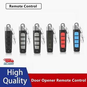 Universal Button Gate Garage Door Opener Remote Control 433MHZ Rolling Code EN