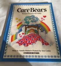 CARE BEARS: Sweet Dreams for Sally by Amelia Hubert (1983, Hardcover) 3+ Parker.