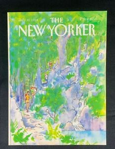 COVER-ONLY-The-New-Yorker-Magazine-July-30-1984-Arthur-Getz